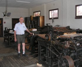 Henty Observer Printing Museum - Accommodation Coffs Harbour