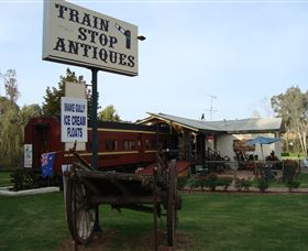 Train Stop Antiques