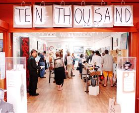 Ten Thousand Paces Gallery