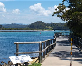 Mill Bay Boardwalk Narooma - Accommodation Coffs Harbour