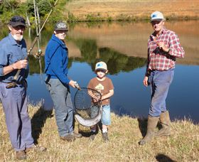 Natone Hills Fly Fishery - Accommodation Coffs Harbour