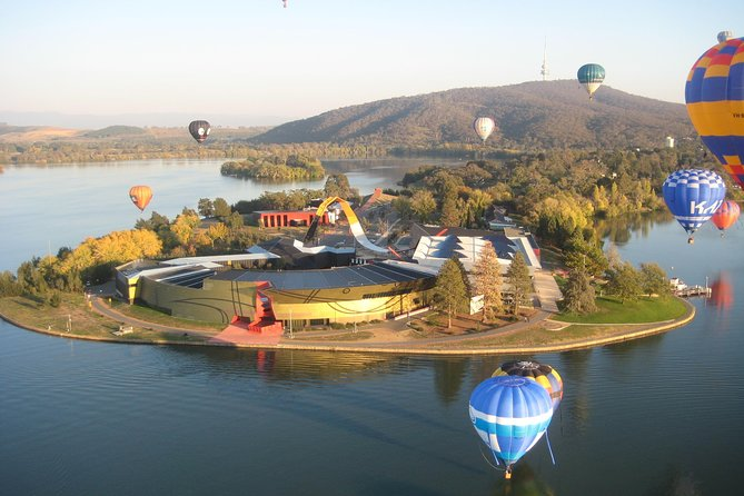 Canberra Hot Air Balloon Flight at Sunrise - Accommodation Coffs Harbour