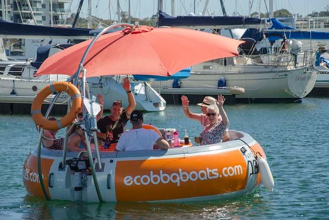Self-Drive BBQ Boat Hire Mandurah - Group of 7 - 10 people - Accommodation Coffs Harbour