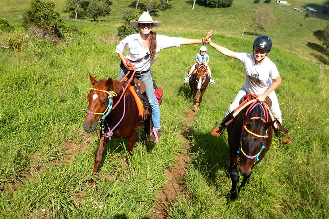 Country Day Ride from Mt Goomboorian with Rainbow Beach Horse Rides - Accommodation Coffs Harbour