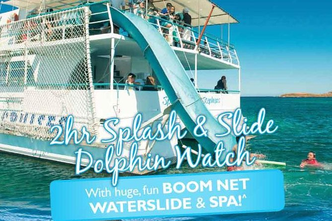 Port Stephens Dolphin Watching Cruise Including Splash and Slide - Accommodation Coffs Harbour