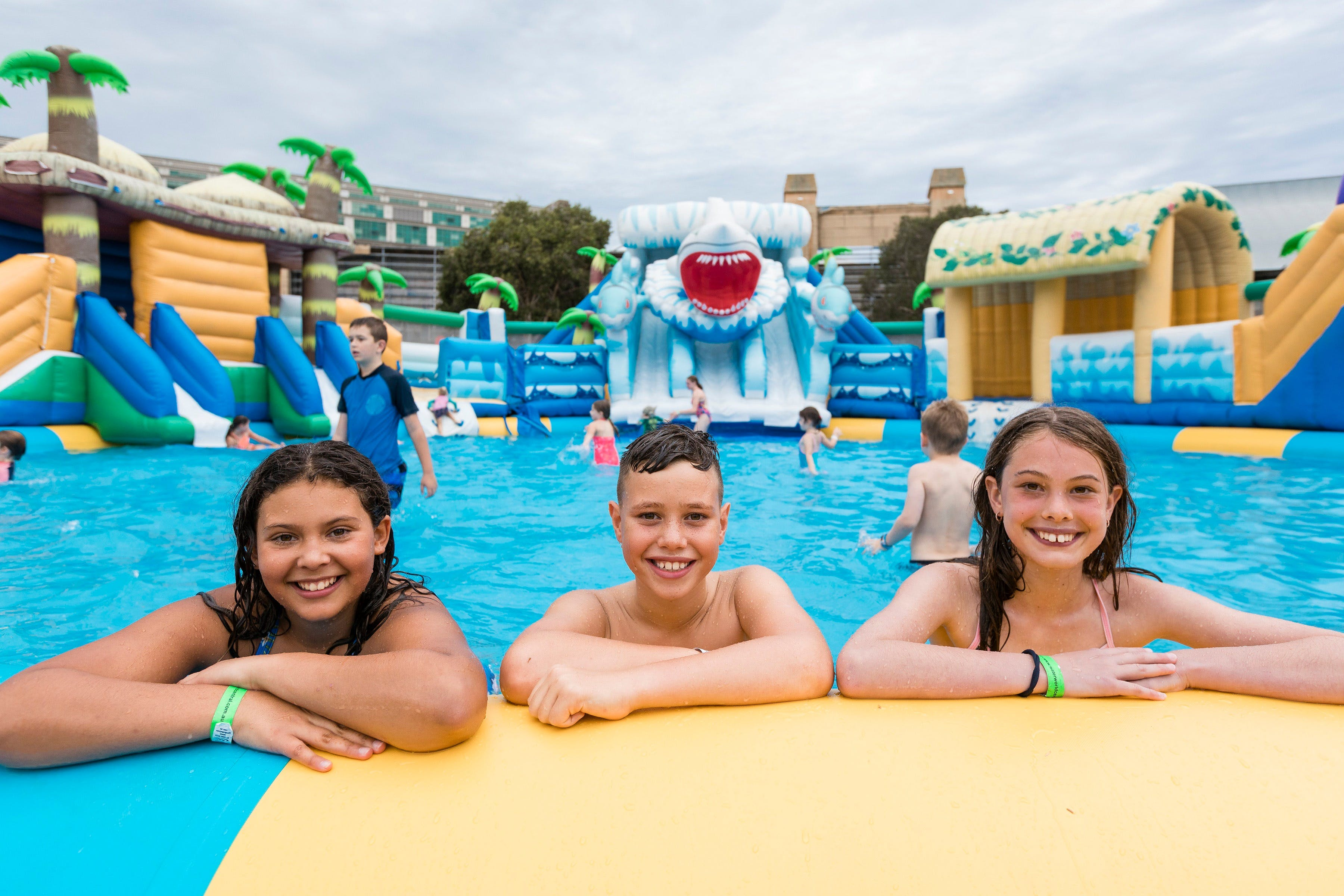 Waterworld Central - Mobile Inflatable Waterpark - Accommodation Coffs Harbour