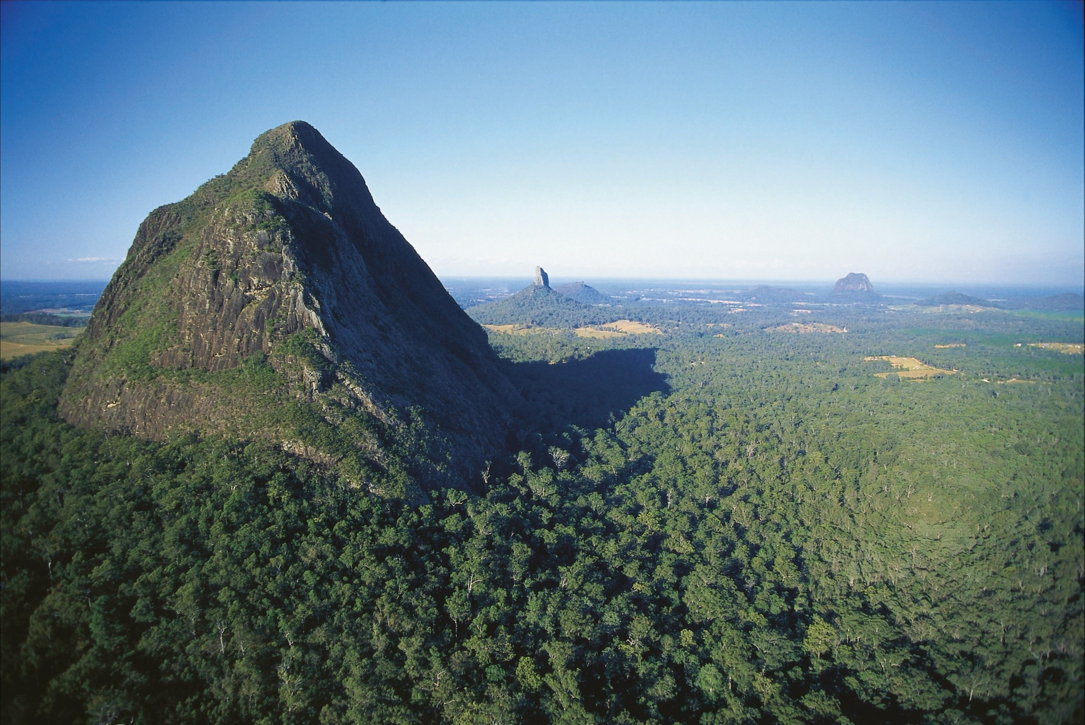 Glass House Mountains National Park - Accommodation Coffs Harbour