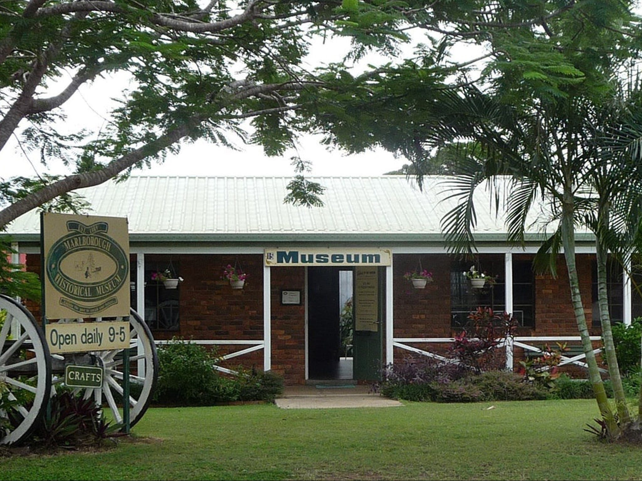 Marlborough Historical Museum - Accommodation Coffs Harbour