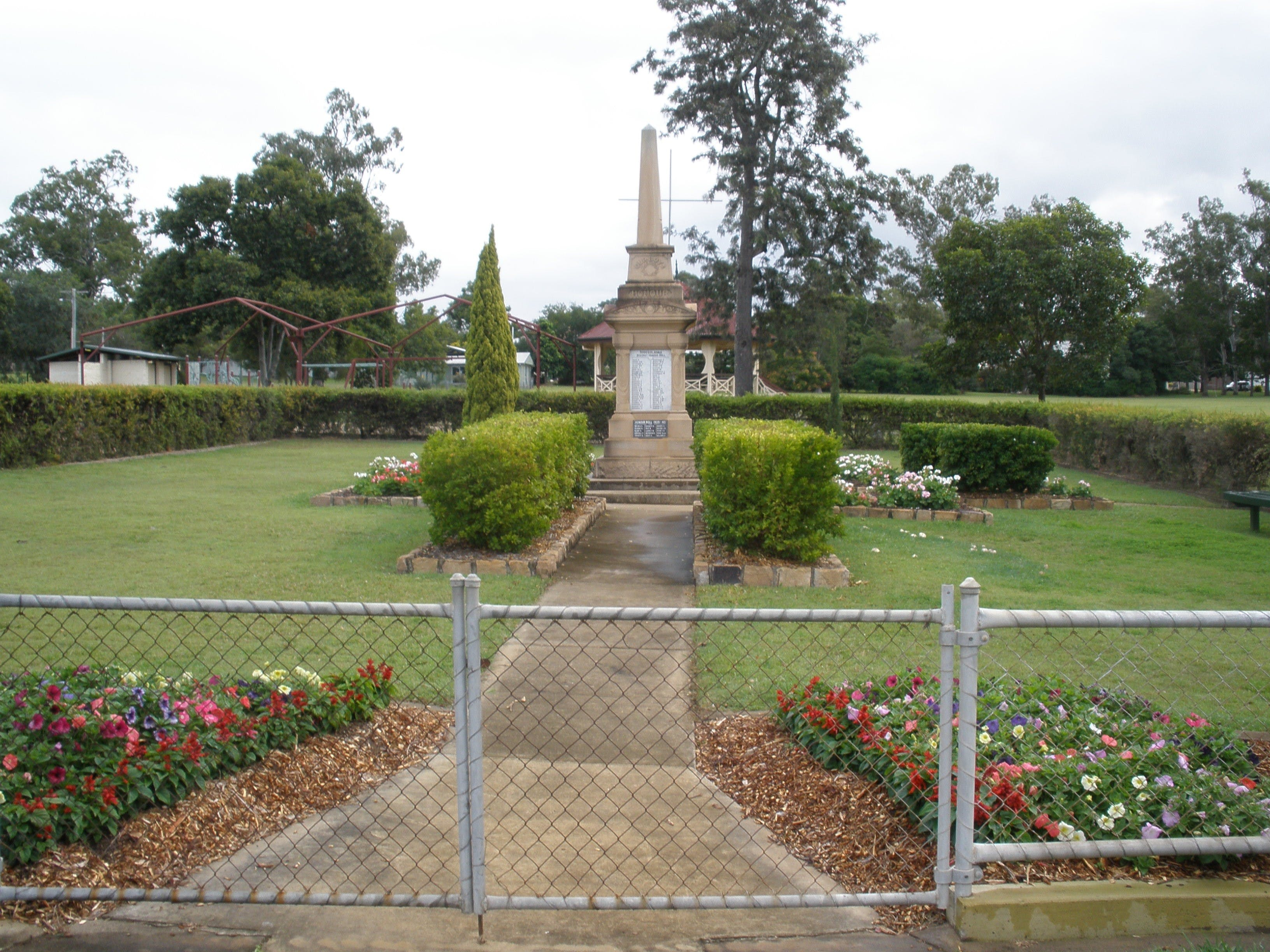 McConnell Park and Toogoolawah War Memorial - Accommodation Coffs Harbour