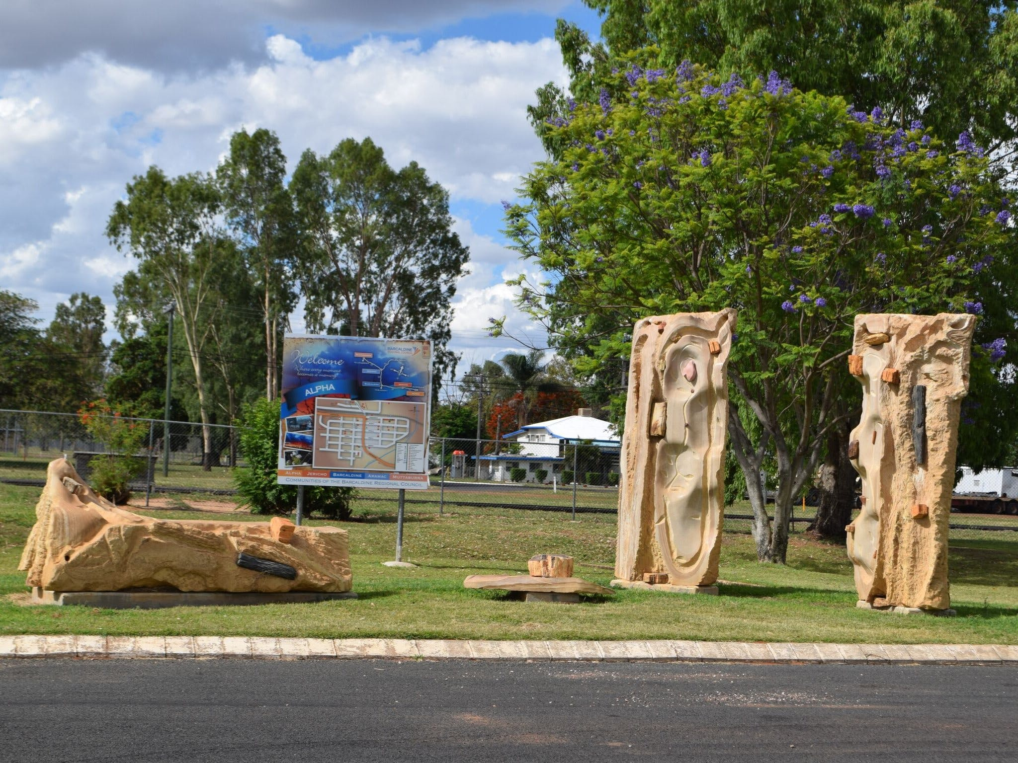 The Fossilised Forest Sculpture - Accommodation Coffs Harbour