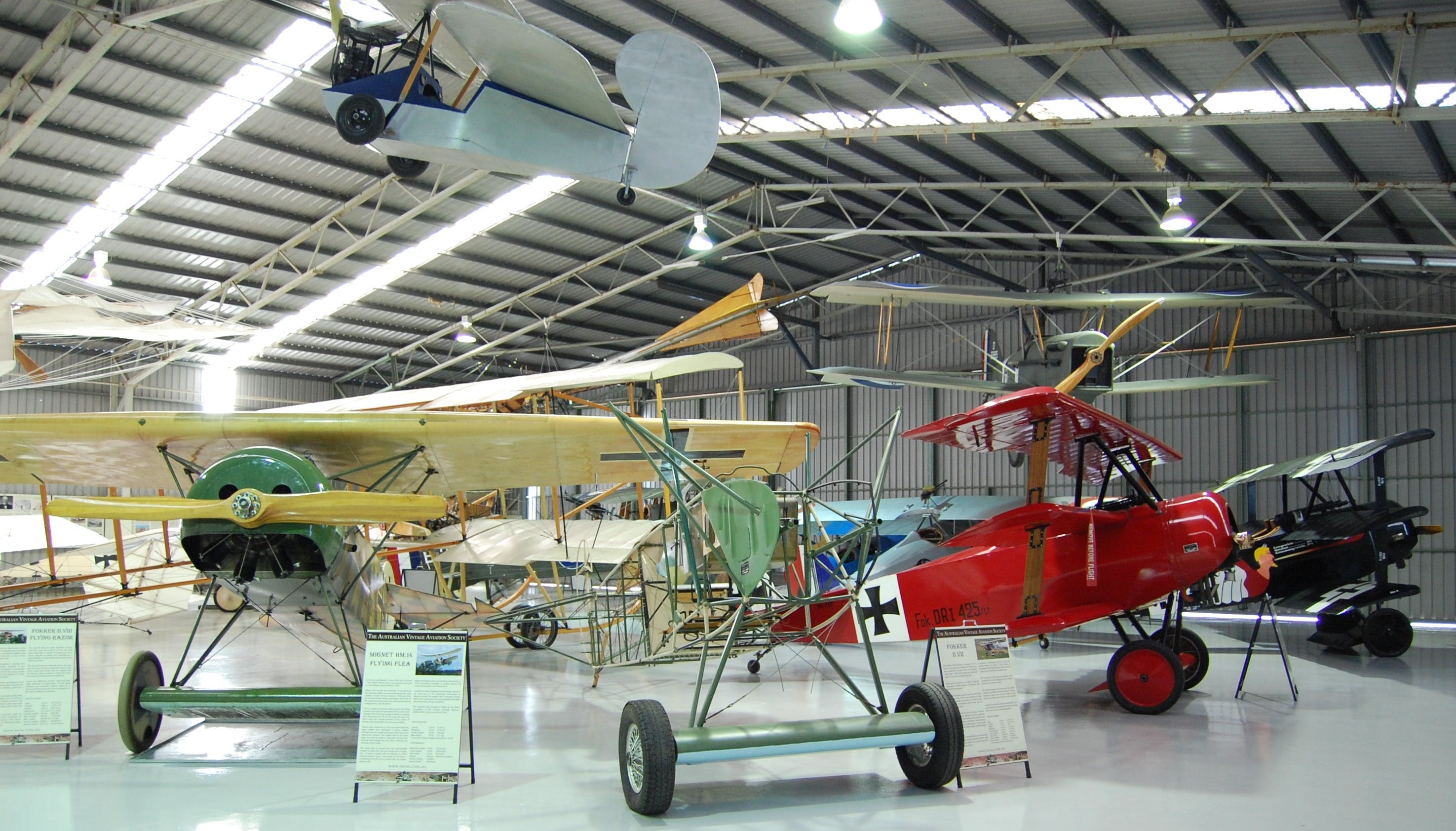 The Australian Vintage Aviation Society Museum - Accommodation Coffs Harbour
