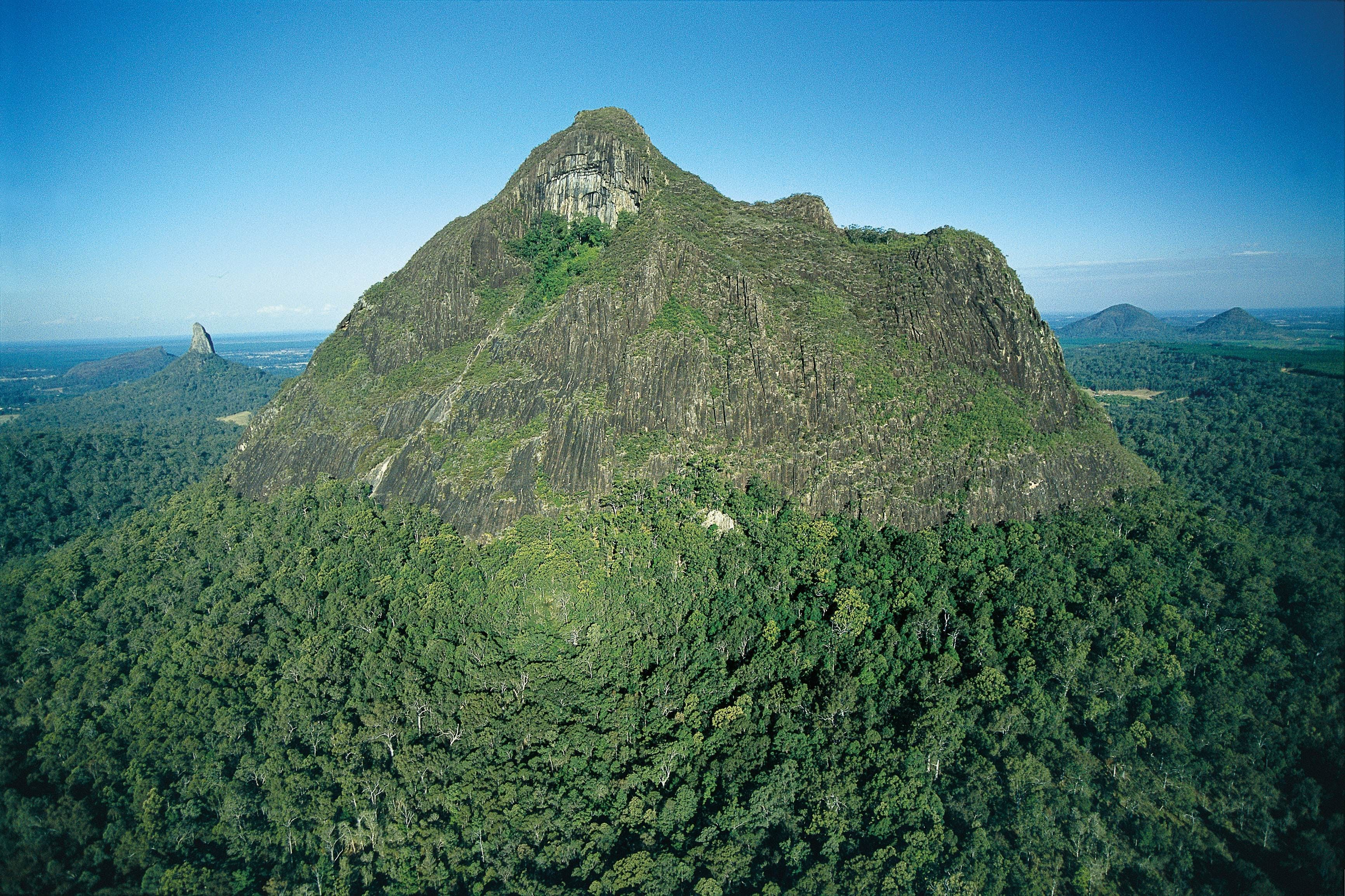 Tibrogargan circuit Glass House Mountains National Park - Accommodation Coffs Harbour