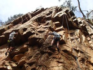 Rock Climbing in Morialta - Accommodation Coffs Harbour