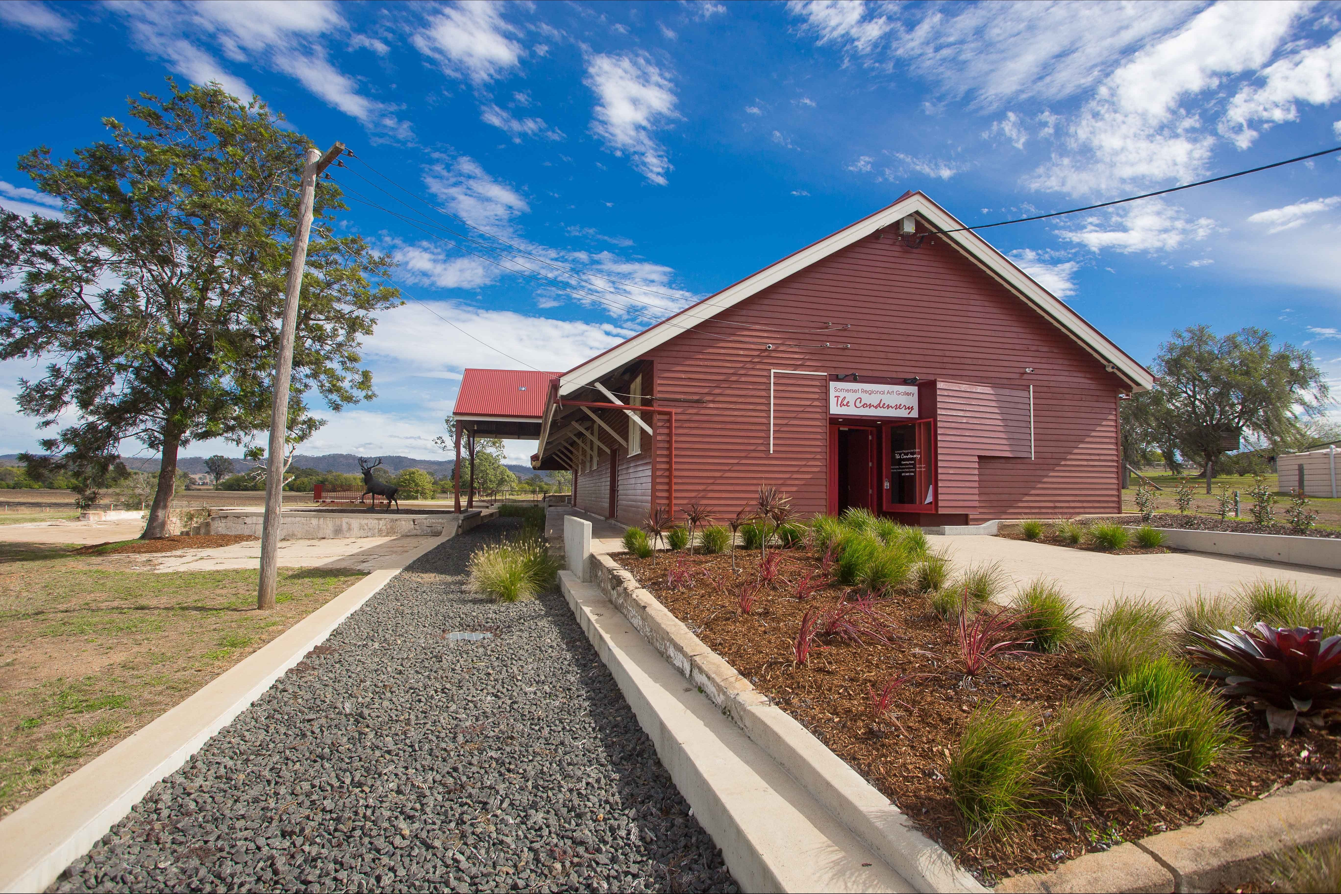 The Somerset Regional Art Gallery - The Condensery - Accommodation Coffs Harbour