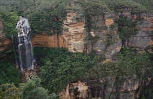 Wentworth Falls Lookout - Accommodation Coffs Harbour