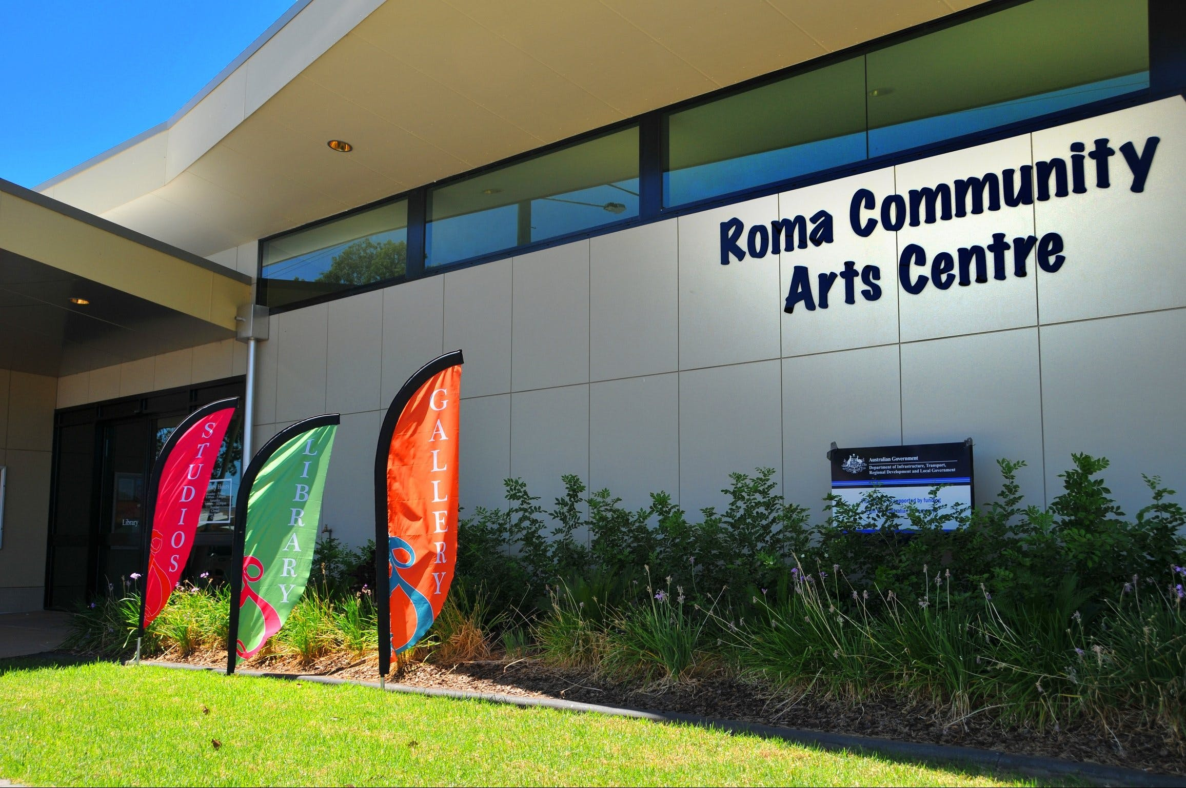 Roma on Bungil Art Gallery and the Walk of Art - Accommodation Coffs Harbour