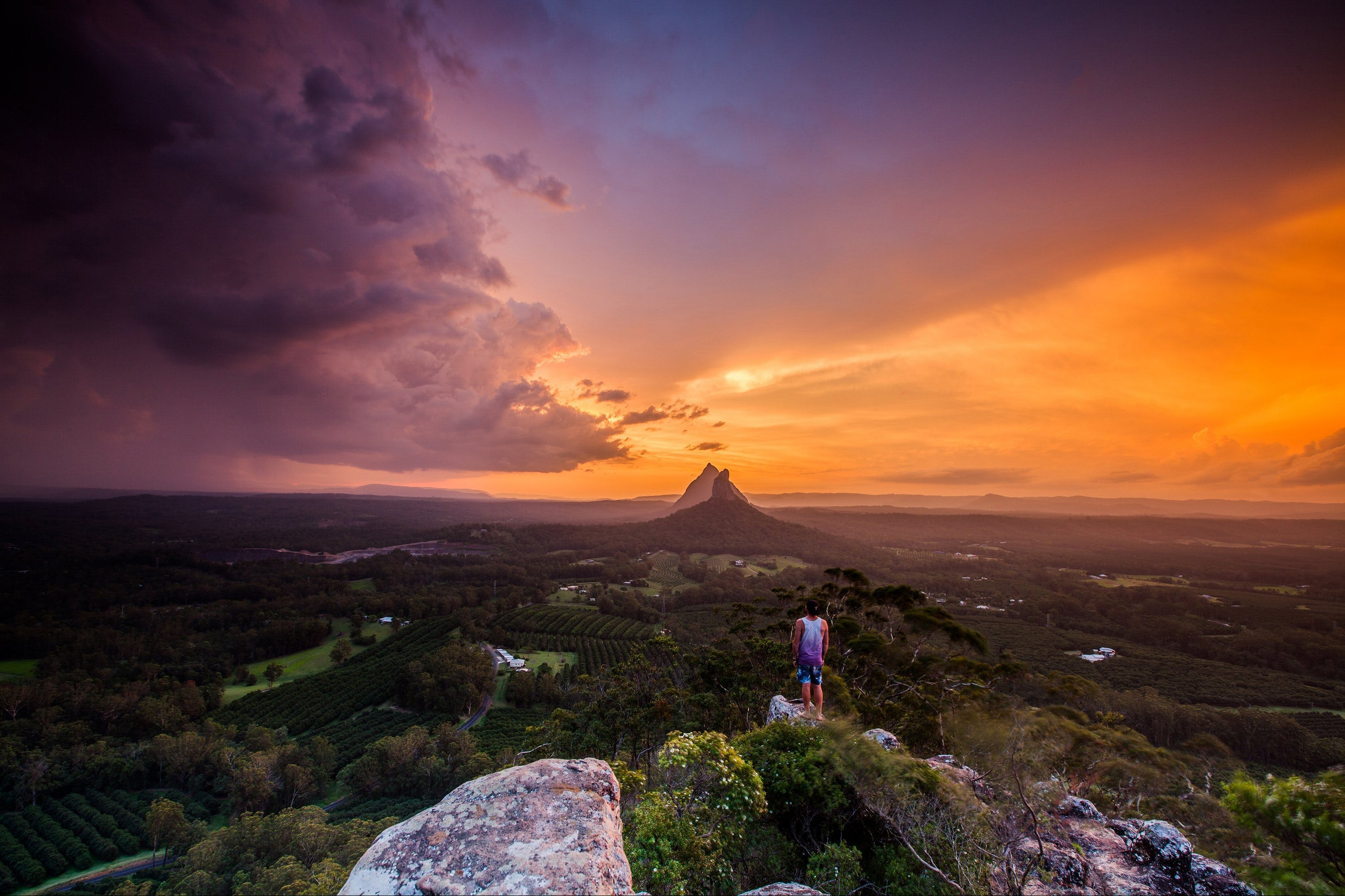 Glass House Mountains - Accommodation Coffs Harbour