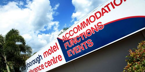 Maryborough Motel  Conference Centre - Accommodation Coffs Harbour