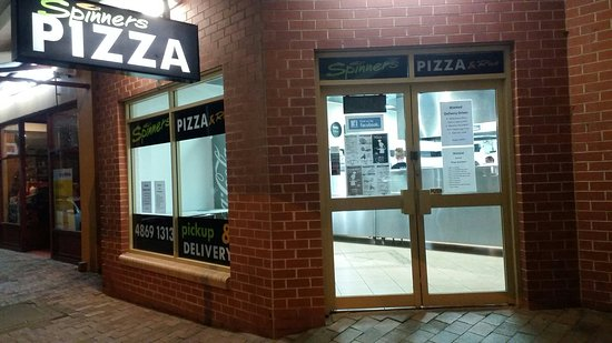 Spinners Pizza - Accommodation Coffs Harbour