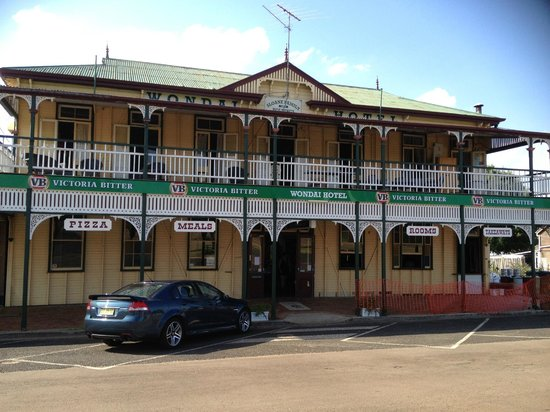 The Wondai Hotel  Cellar - Accommodation Coffs Harbour